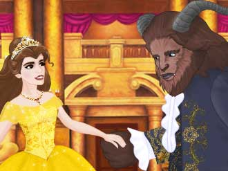 Beauty and the Beast online hra
