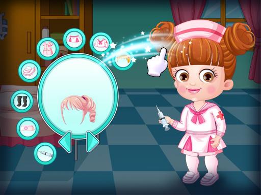 Baby Hazel Doctor Dressup Game