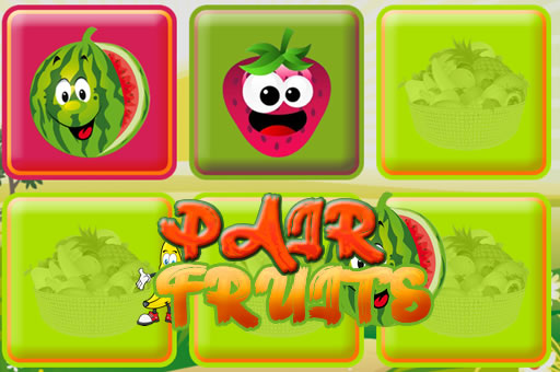 Aperçu du jeu PAIR FRUITS