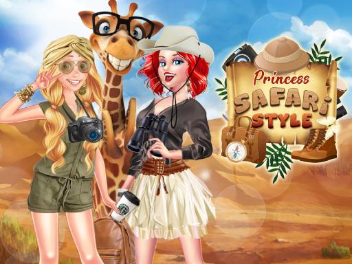 Princess Safari Style