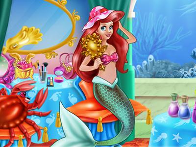 Mermaid Makeup Room online hra