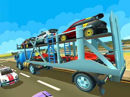 Cargo Euro Truck Drive Car ...