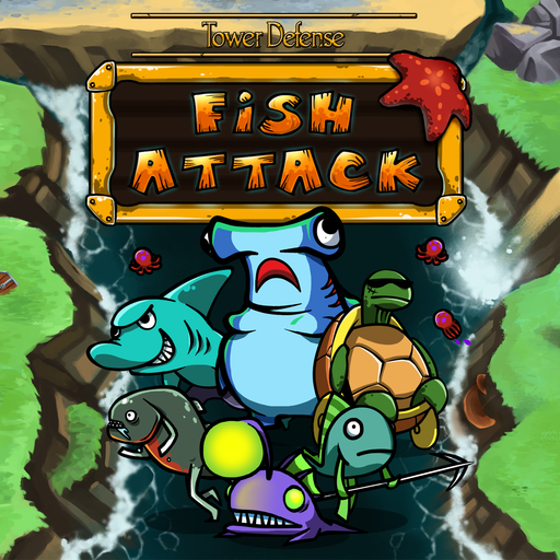 Tower defense-Fish attack