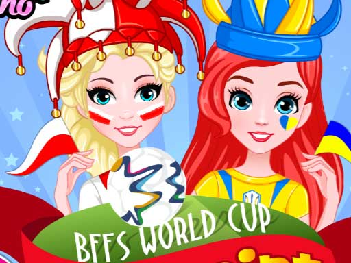 BFFs World Cup Face Paint online hra