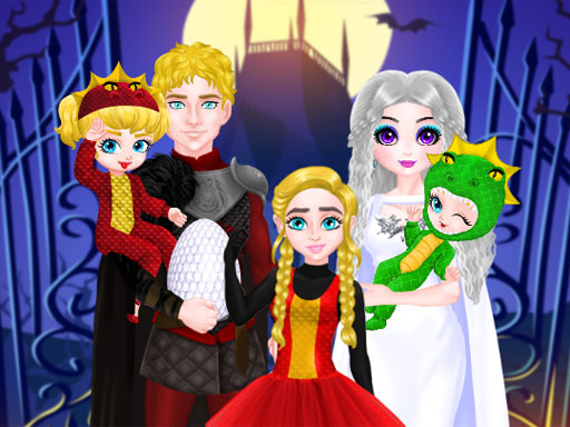 Princess Family Halloween ...