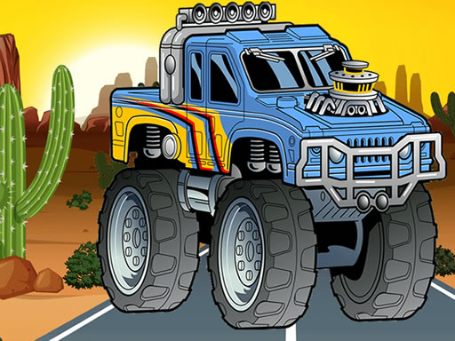 Crazy Monster Truck Jigsaw