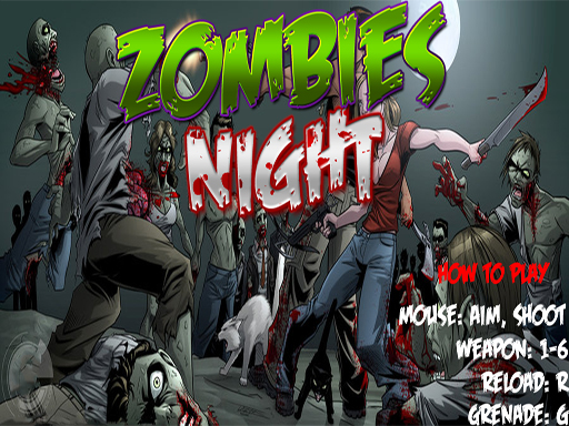Zombies Night 360