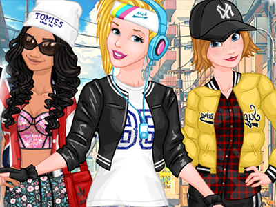 Princesses Sporty & Funky Day online hra