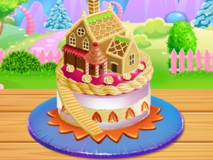 Doll House Cake Cooking online hra