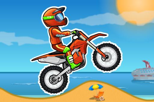 Jeu de course de vélo moto xm