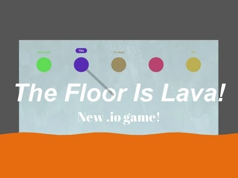 The Floor is Lava!!! game