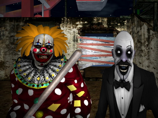 Slenderclown: Be Afraid Of IT! online hra