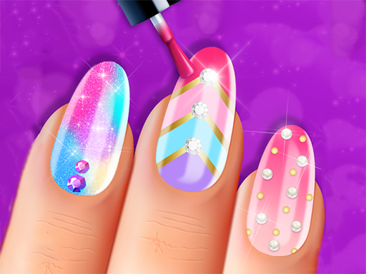 Fashion Girls Nail Salon game