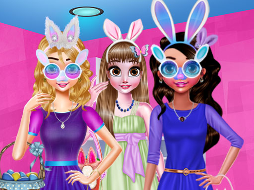 Funny Easter Girls online hra