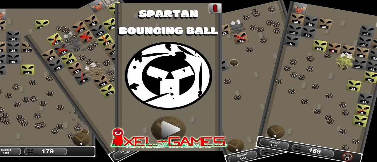 Spartan Bouncing Ball