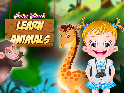 Baby Hazel Learn Animals game