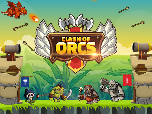 Clash of Orcs is real time strategy units deployment game. Objective is to destroy the opponent base by deploying the orcs. Try different combination of units to make effective attack force. Selecting the right units at appropriate time is best way to win the battle. Good Luck