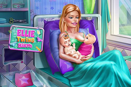 Ellie twins naissance