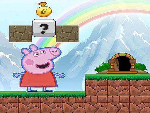 Pig Adventure Game 2D