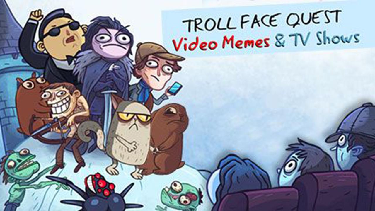 Troll face quest: mèmes vidéo et émissions de télévision: Première partie