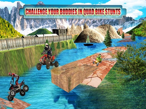 ATV Offroad Quad Bike Hill ...