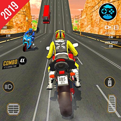 Highway Rider Bike Racing: Crazy Bike Traffic Race