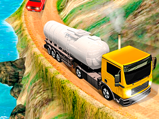 Offroad Oil Tanker Truck Drive online hra