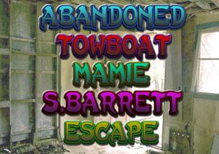 Abandoned Towboat Mamie S. Barrett Escap