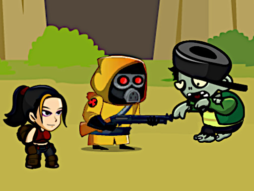 殭屍殺手--Zombie Slayer-殭屍殺手游戲是一個包括各種任務的生存遊戲。有時你會保護人質,有時候是一條線。別忘了改善你的武器,總共有100個不同的關卡。遇到困難記得使用手榴彈和空氣槍