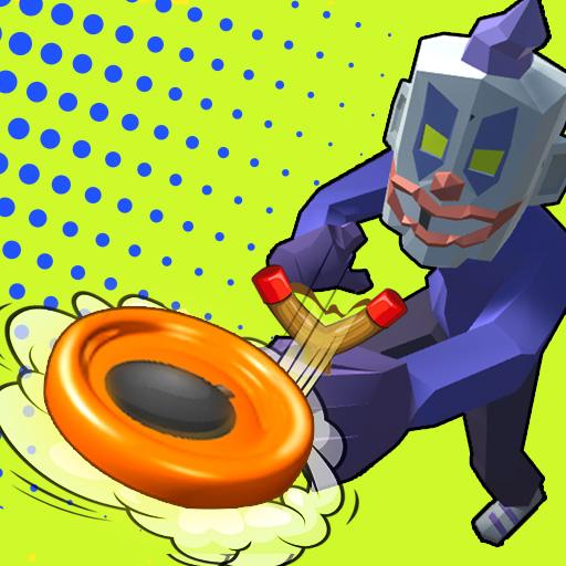 彈弓-弹弓-SlingShot-嘿,您在尋找有趣的遊戲嗎? SlingShot是一款有趣的休閒遊戲。無論您是在1種玩家模式下與人工智能對抗,還是在2、3、4種玩家模式下與您的朋友交戰。 您的目標是將區域中的所有磁盤傳遞到另一側。 SlingShot遊戲,有趣而精美的動畫圖形。