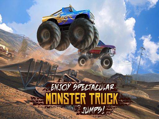 Monster 4x4 Hill Climb Sims