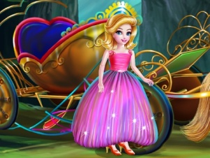 Princess Carriage Car Wash online hra