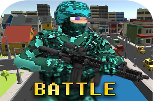 Pixel combat multijoueur