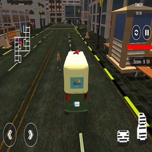 City Tuk Tuk Rickshaw : Chingchi Simulator