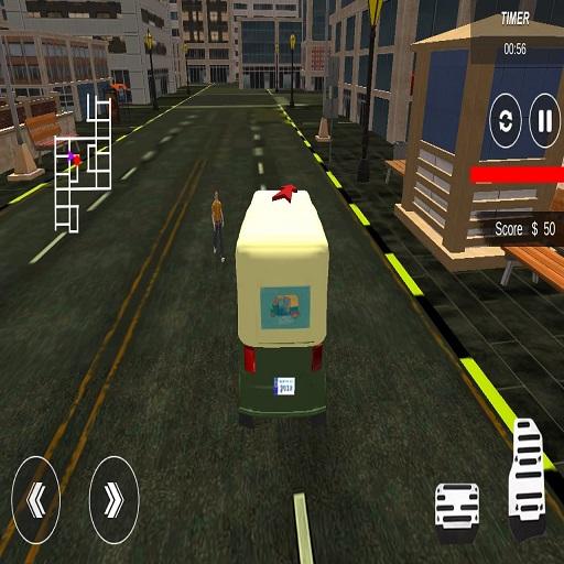 City Tuk Tuk Rickshaw : Chingchi Simulator