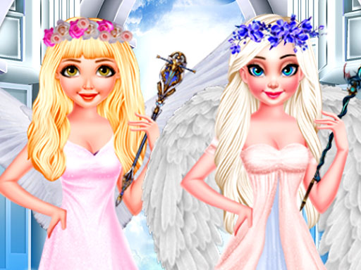 Jogar A Day in Angel World Gratis Online