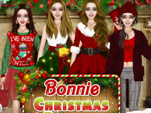 Bonnie Christmas Parties online hra