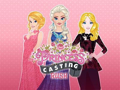 Princesses Casting Rush online hra