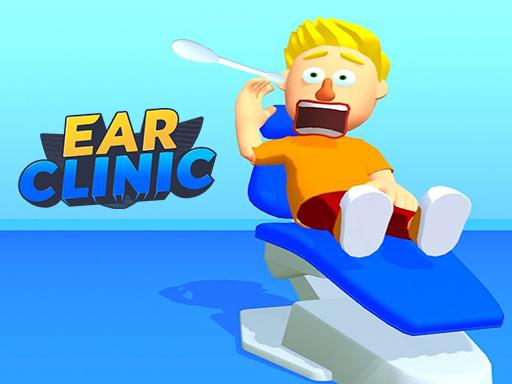 耳科診所--Ear Clinic-很多患者都到您的診所就診。您需要使用不同的抓取工具來清潔所有耳垢。 但是耳道很脆弱,所以一定不要傷害它們。你能做到嗎?