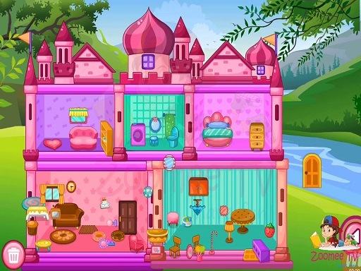 Princess Baby Doll House ...