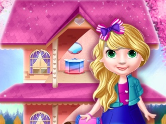 Princess Doll House Decoration online hra