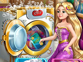 Goldie Princess Laundry Day online hra