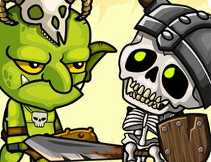 Goblins vs Skeletons online hra