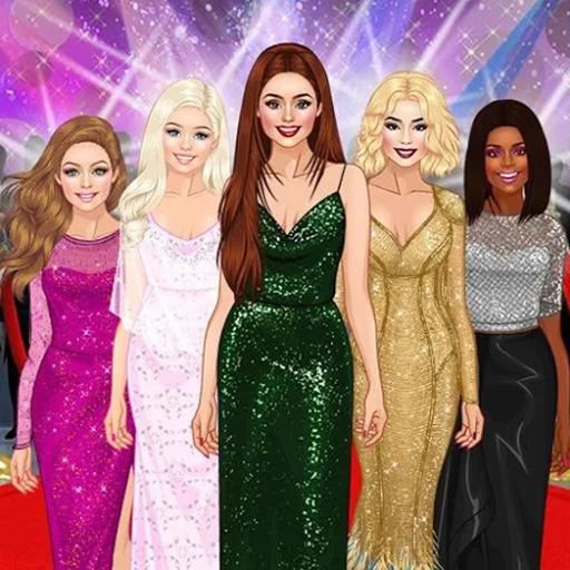 Red Carpet Dress Up Girls