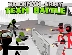 Stickman army battle de l'équipe