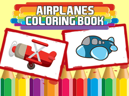 Airplanes Coloring Book online hra