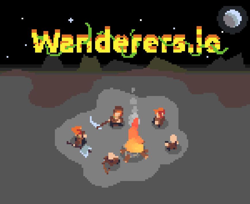 像素人生存島-像素人生存岛-Wanderers.io-這是一個很特別的生存io遊戲,一開始是在一個空曠的部落,你必須幫助他們收集資源,在野外慢慢的茁壯成長。一開始是從兩個簡單的部落成員開始,幫助這些人收集木材並捕殺動物來作為食物。 使用收集的資源來構建更多的部落成員,並設法研究新的能力。你必須在地圖上尋找合適的農場和狩獵區域,你必須注意其他線上部落,因為它們可能會試圖過來攻擊你! 你能建立各種不同的單位,如樵夫,傳教士,斧頭和礦工,努力收集資源並發展你的部落。這個線上io遊戲有很好的可玩性,可以挑戰你的管理技能和生存能力!