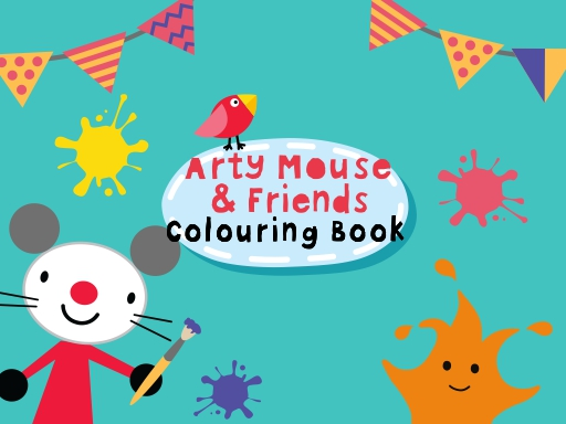 Arty Mouse Coloring Book online hra
