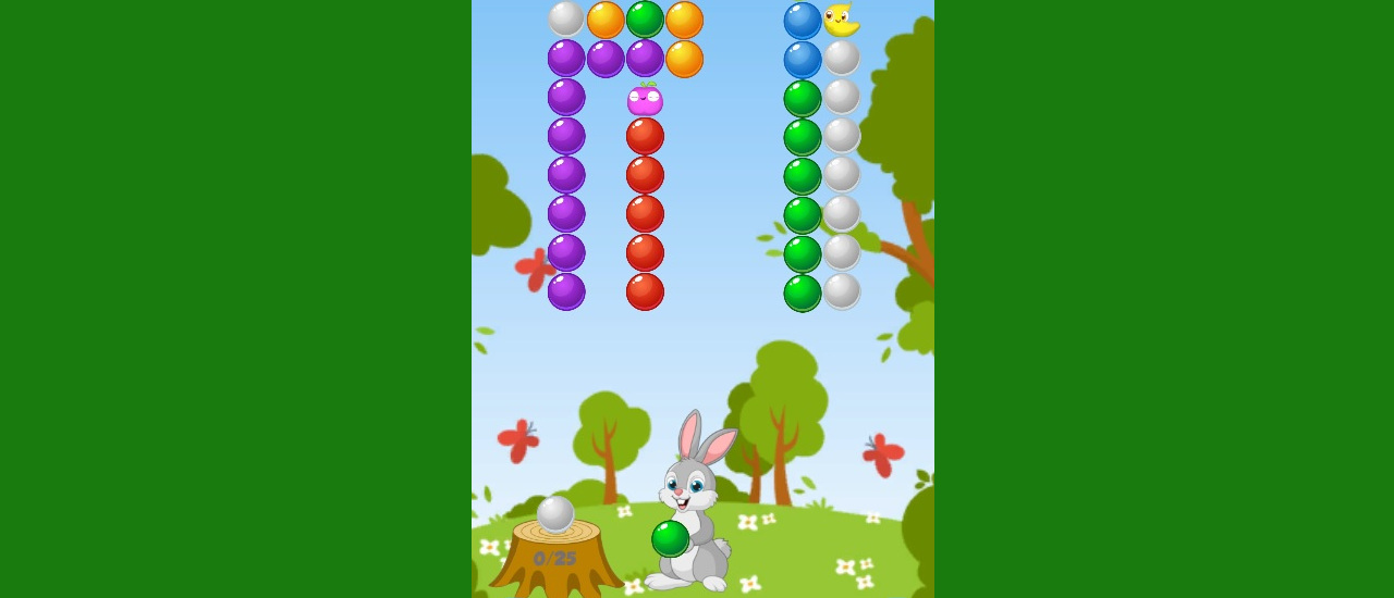 Rabbit Bubble Shooter