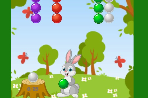 Lapin bubble shooter